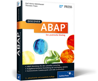 SAP Buch: Discover ABAP